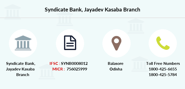 Syndicate-bank Jayadev-kasaba branch