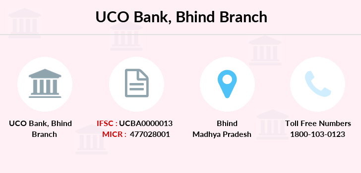 Uco-bank Bhind branch