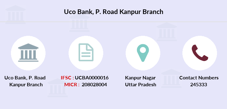 Uco-bank P-road-kanpur branch