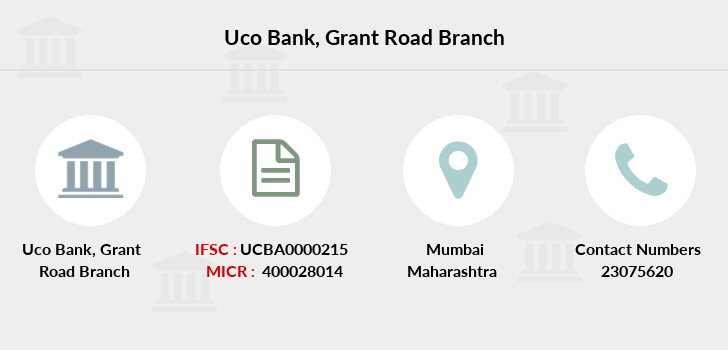 Uco-bank Grant-road branch