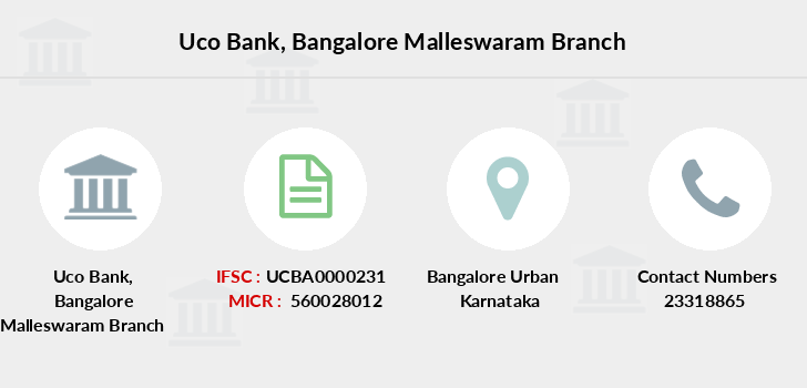 Uco-bank Bangalore-malleswaram branch
