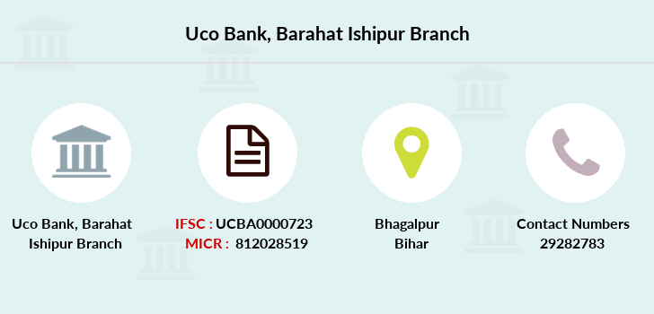 Uco-bank Barahat-ishipur branch