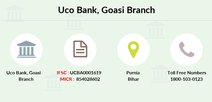 Uco-bank Goasi branch