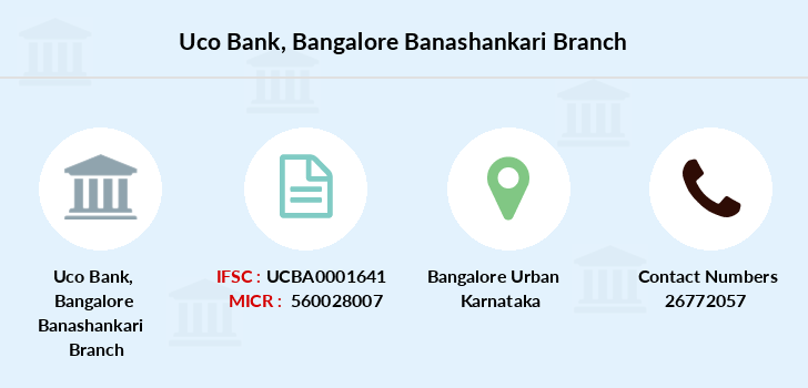 Uco-bank Bangalore-banashankari branch