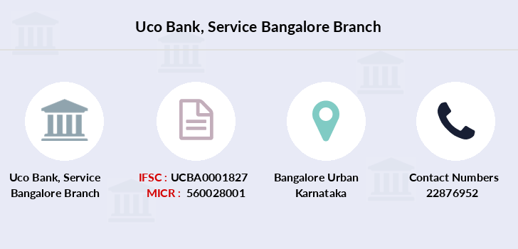 Uco-bank Service-bangalore branch