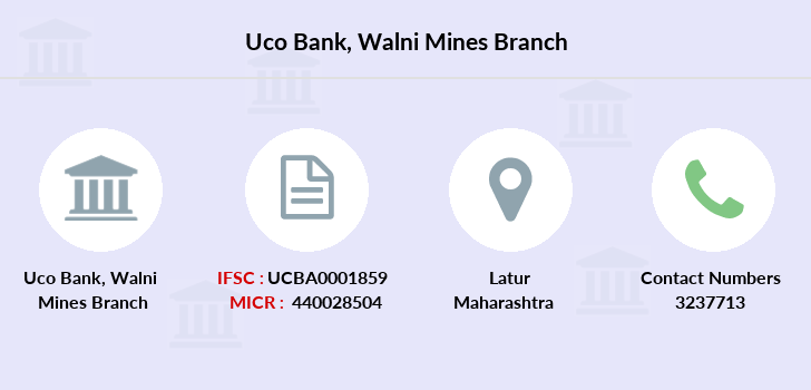 Uco-bank Walni-mines branch