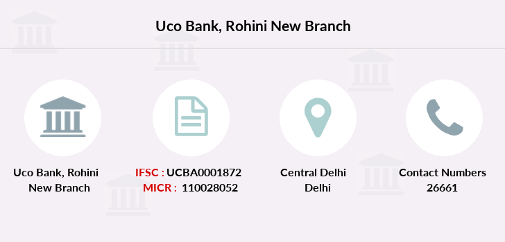 Uco-bank Rohini-new branch