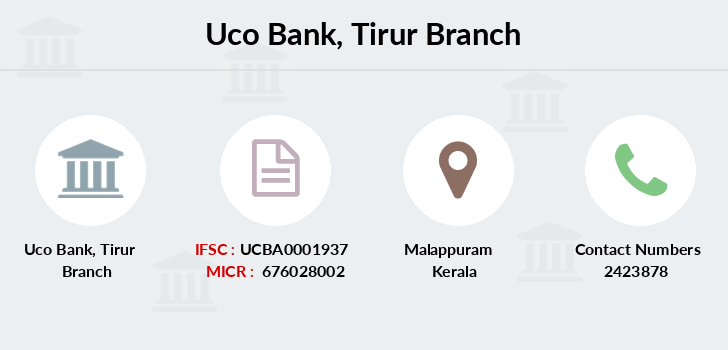 Uco-bank Tirur branch