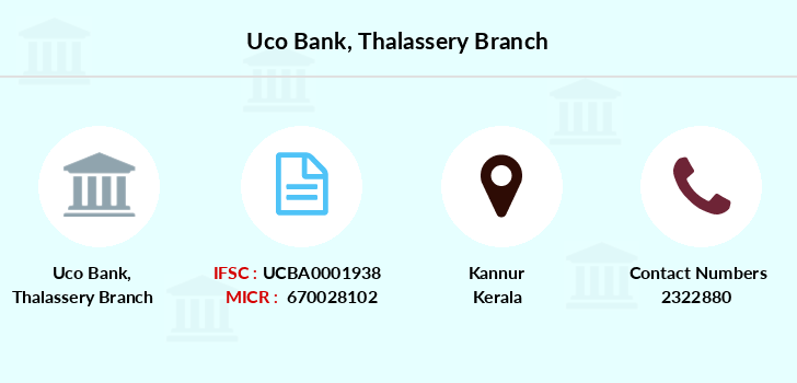 Uco-bank Thalassery branch