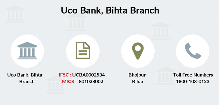 Uco-bank Bihta branch