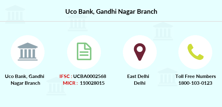 Uco-bank Gandhi-nagar branch