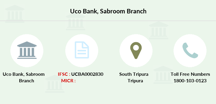 Uco-bank Sabroom branch