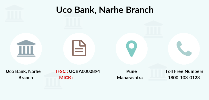 Uco-bank Narhe branch