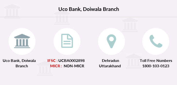 Uco-bank Doiwala branch
