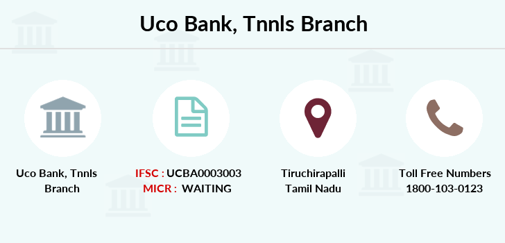 Uco-bank Tnnls branch