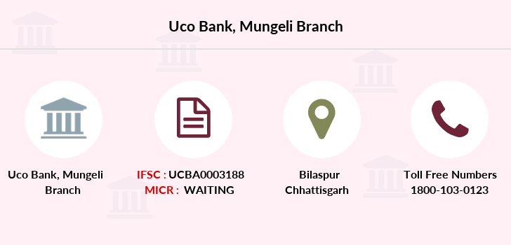 Uco-bank Mungeli branch