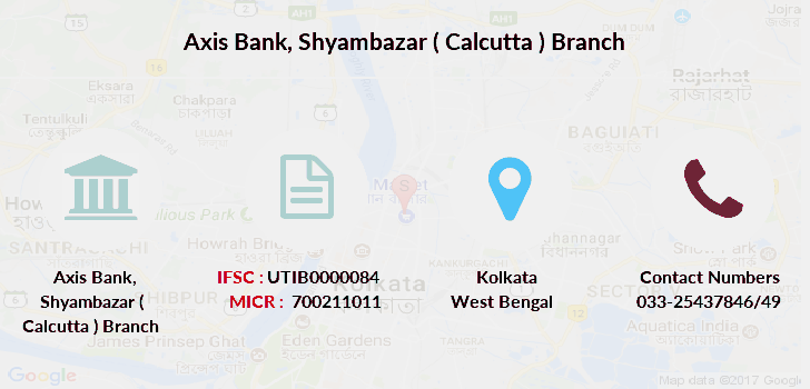 Axis-bank Shyambazar-calcutta branch