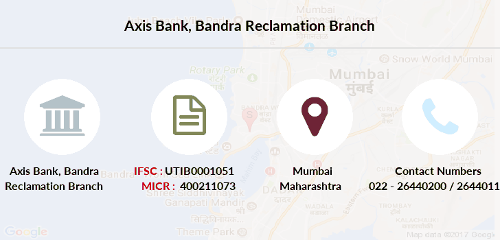 Axis-bank Bandra-reclamation branch