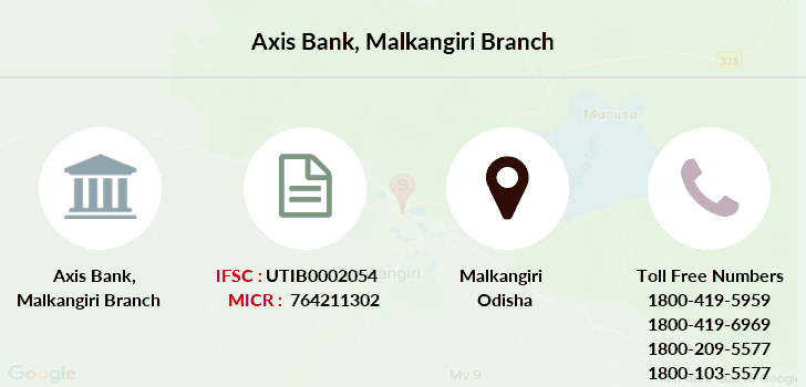 Axis-bank Malkangiri branch
