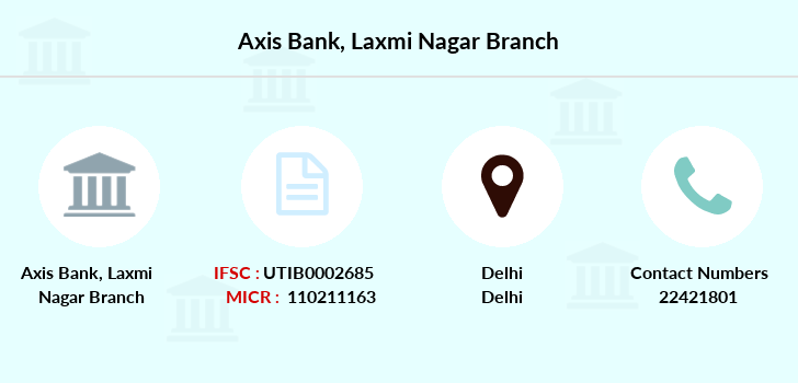 Axis-bank Laxmi-nagar branch