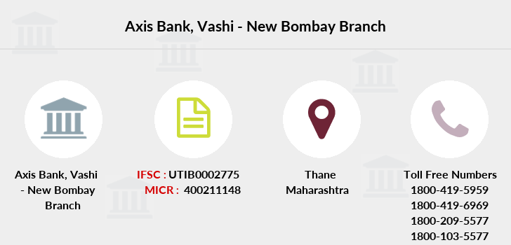 Axis-bank Vashi-new-bombay branch