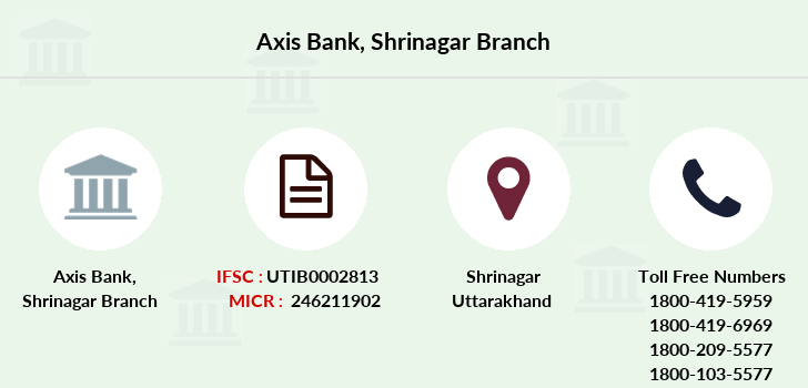 Axis-bank Shrinagar branch