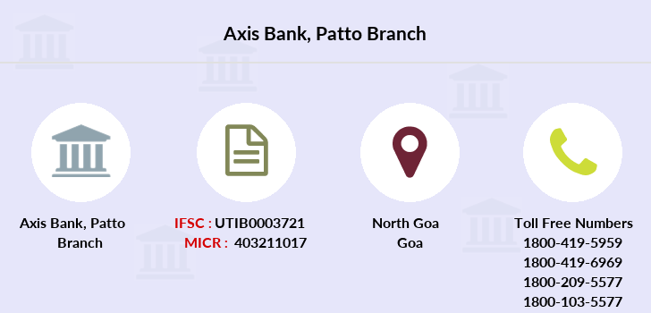 Axis-bank Patto branch