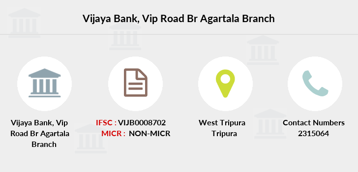 Vijaya-bank Vip-road-br-agartala branch