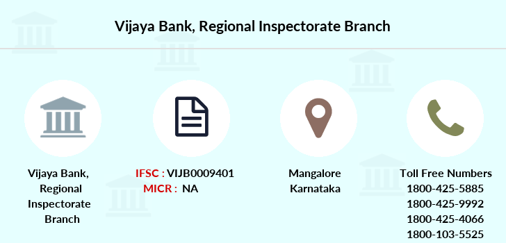 Vijaya-bank Regional-inspectorate branch