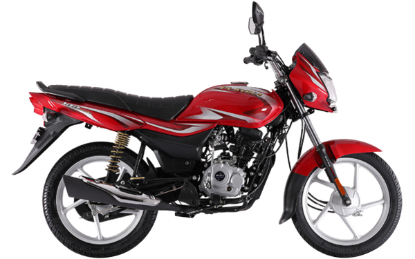 Bajaj Platina 100 Side View