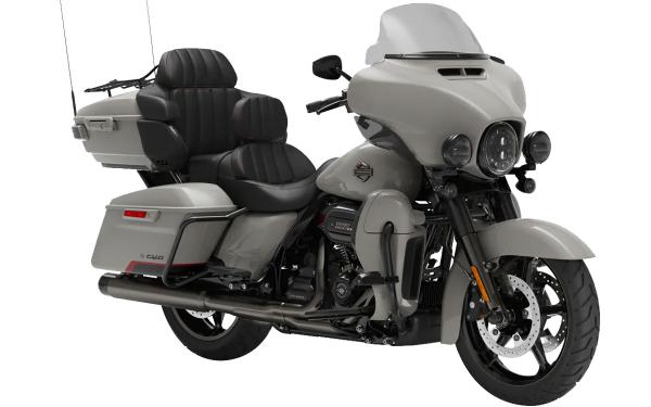 Harley Davidson CVO Limited Front Side View (Sand Dune)