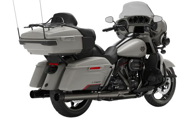 Harley Davidson CVO Limited Rear Side View
