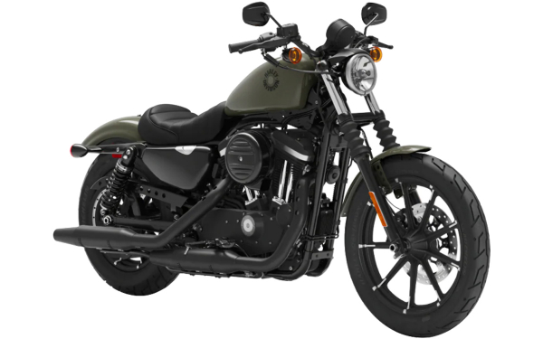 Harley Davidson Street Iron 883 Front Side View (Deadwood Green)