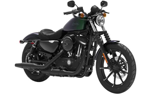 Harley Davidson Street Iron 883 Front Side View (Snake Venom)