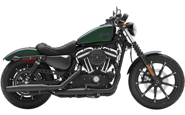 Harley Davidson Street Iron 883 Side View