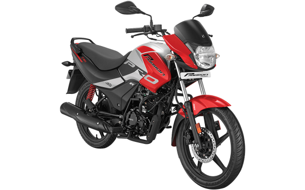 Hero Passion Pro Front Side View (Sports Red)