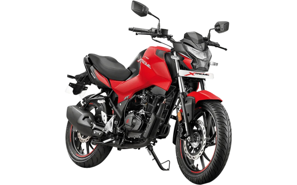 Hero Xtreme 160R Front Side View (Sports Red)