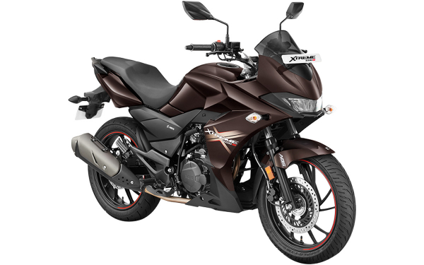 Hero Xtreme 200S Front Side View (Brown)