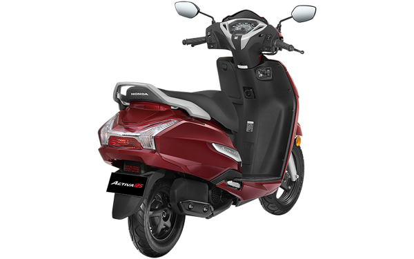 Honda Activa 125 Rear Side View