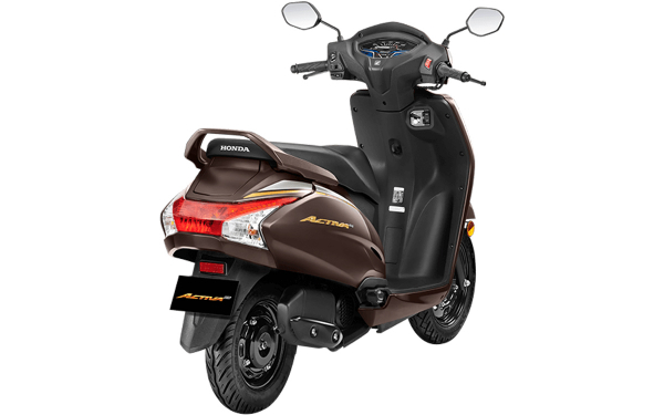 Honda Activa 6G Anniversary Edition Rear Side View