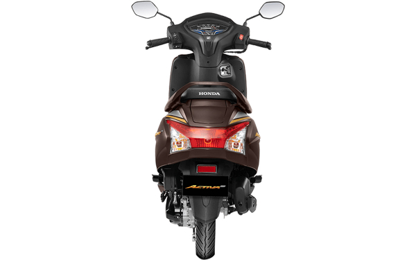 Honda Activa 6G Anniversary Edition Rear View