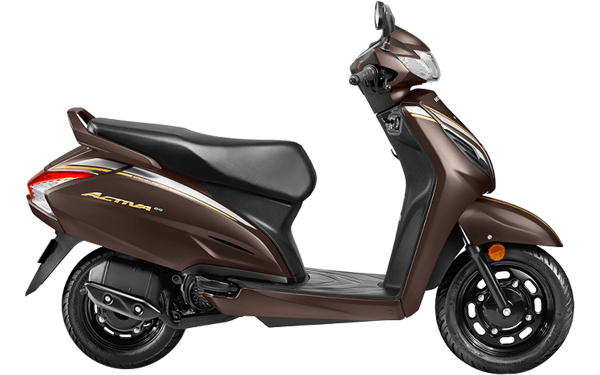 Honda Activa 6G Anniversary Edition Side View