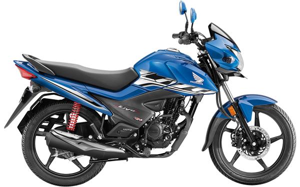 Honda Livo Side View (Athletic Blue)