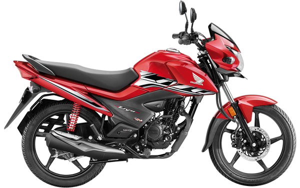 Honda Livo Side View (Imperial Red)