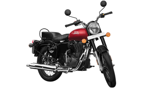 Royal Enfield Bullet X 350 ES Front Side View (Regal Red)