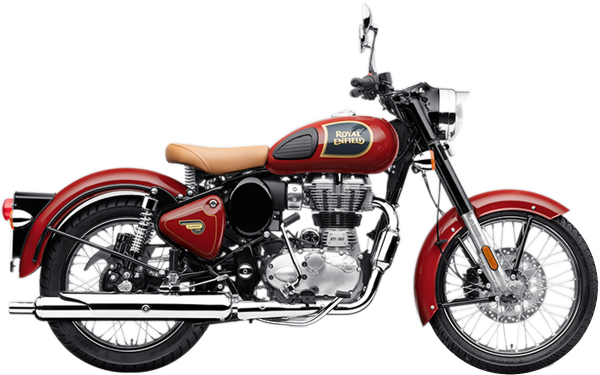 Royal Enfield Classic 350 Single Channel Side View