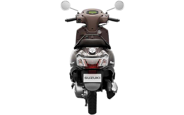 Suzuki Access 125 Bluetooth Rear View