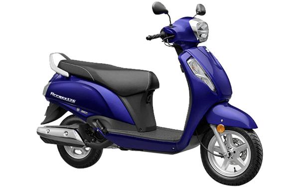 Suzuki Access 125 Front Side View