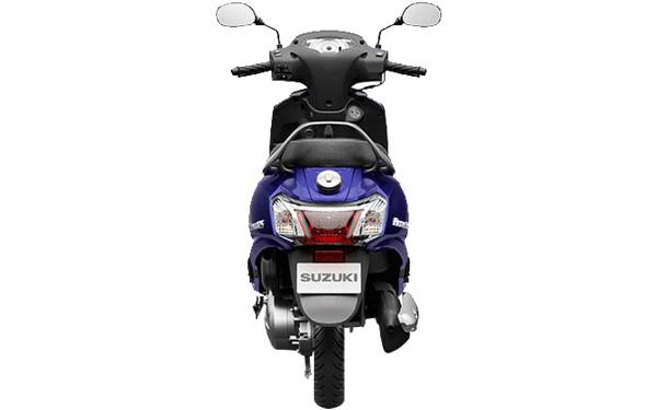 Suzuki Access 125 Rear View