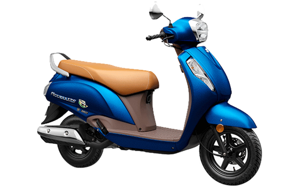 Suzuki Access 125 Special Edition Front Side View